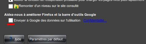 options google toolbar