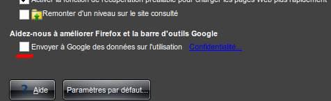 options google toolbar