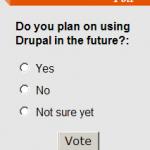 drupal bloc sondage