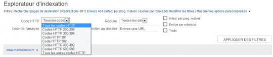 Explorateur indexation Bing
