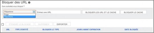 bloquer URL Bing