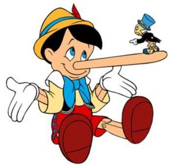 c'est pas baeu de mentir!