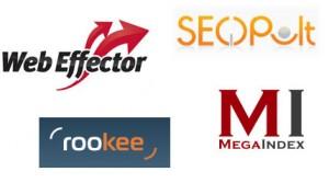 megaindex seopult rookee webeffector
